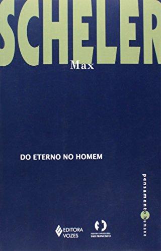 Do eterno no homem, livro de Max Scheler