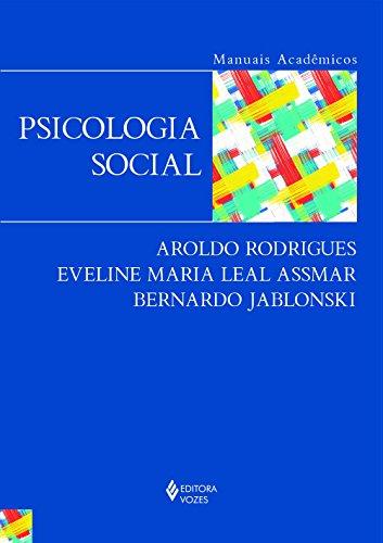 Psicologia social – Série Manuais, livro de Aroldo Rodrigues