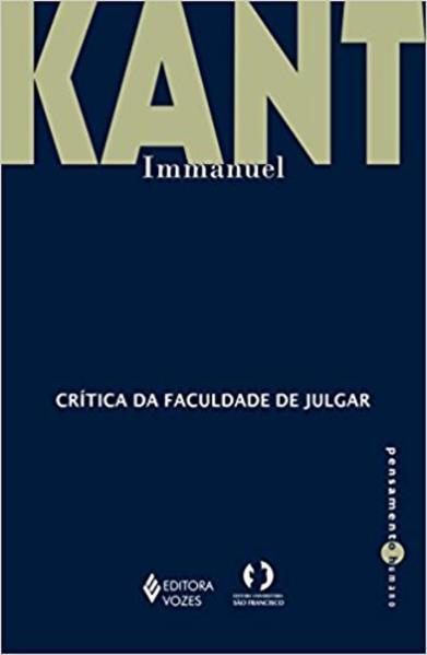 Crítica da faculdade de julgar, livro de Immanuel Kant