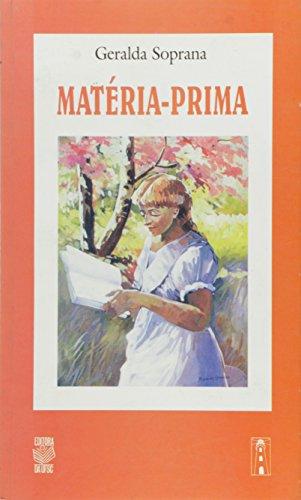 MATÉRIA-PRIMA, livro de GERALDA SOPRANO