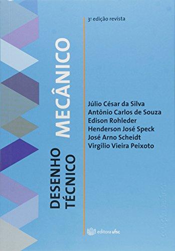 Desenho Técnico Mecânico, livro de Júlio César da Silva