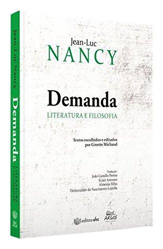 Demanda: Literatura e Filosofia, livro de Jean Luc Nancy