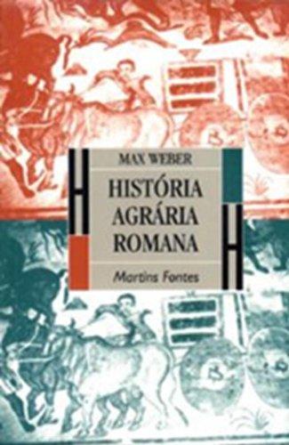 HISTORIA AGRARIA ROMANA, livro de Max Weber