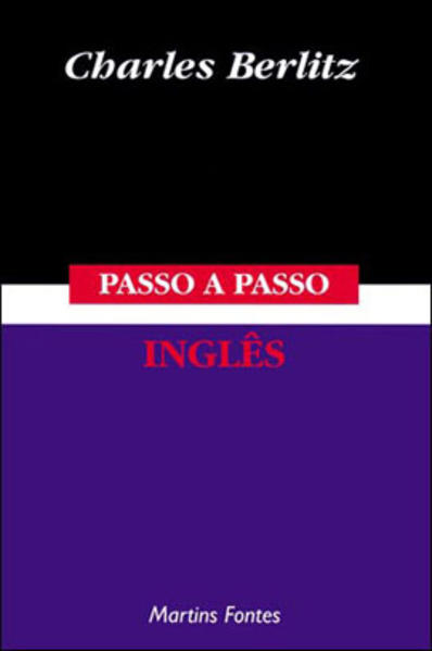 PASSO-A-PASSO - INGLES, livro de BERLITZ, CHARLES