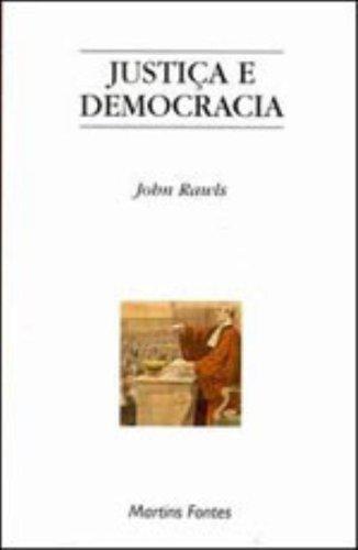 JUSTIÇA E DEMOCRACIA, livro de RAWLS, JOHN