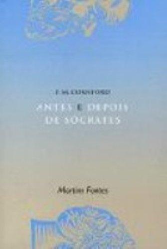 Antes e depois de Sócrates, livro de Francis McDonald Cornford
