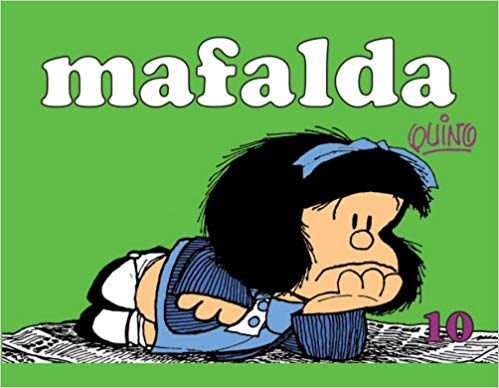 Mafalda Nova - 10, livro de Quino