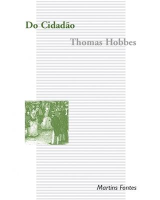 Do Cidadão, livro de Hobbes, Thomas