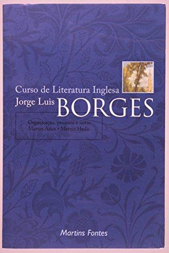 Curso de Literatura Inglesa, livro de JORGE LUIS BORGES