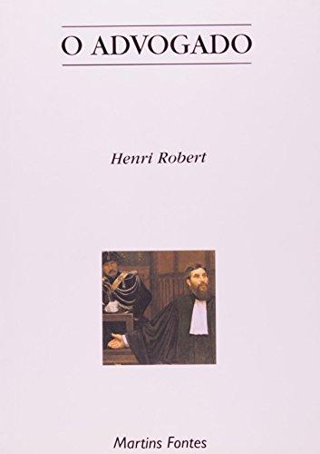 O advogado, livro de Henri Robert