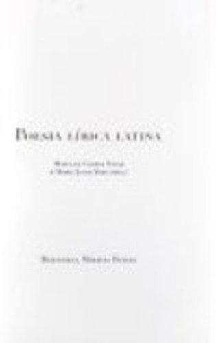 POESIA LIRICA LATINA, livro de Maria da Gloria Novak, Maria Luiza Neri (orgs.)