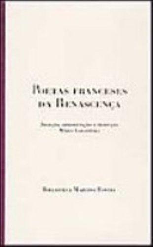 POETAS FRANCESES DA RENASCENCA, livro de Mário Laranjeira (org.)