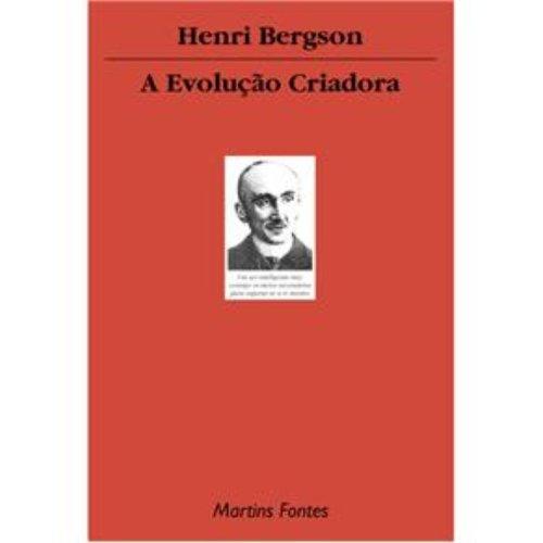 A evolução criadora, livro de Henri Bergson