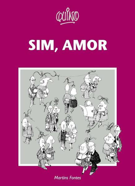 SIM, AMOR, livro de QUINO