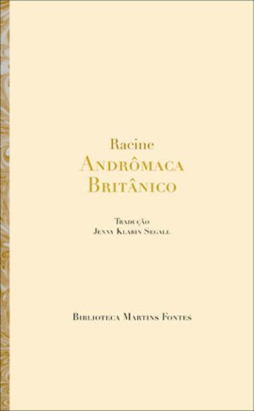 ANDRÔMACA/ BRITÂNICO, livro de RACINE