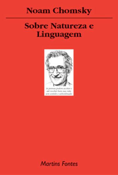SOBRE NATUREZA E LINGUAGEM, livro de NOAM CHOMSKY