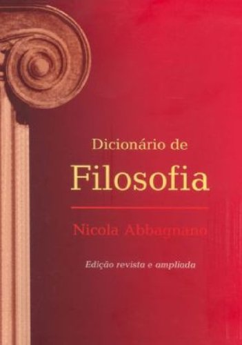 Dicionário de filosofia, livro de Nicola Abbagnano
