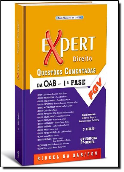 Expert Direito: Questões Comentadas da OAB - 1 Fase, livro de Jefferson Jorge