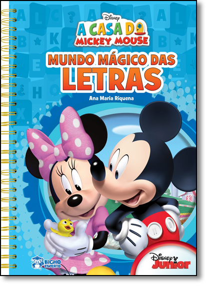 Disney: Mundo Mágico das Letras, livro de Ana Maria Riquena