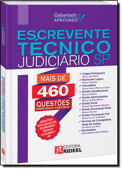 Gabaritado & Aprovado: Escrevente Técnico e Judiciário Sp, livro de Paulo José Vieira