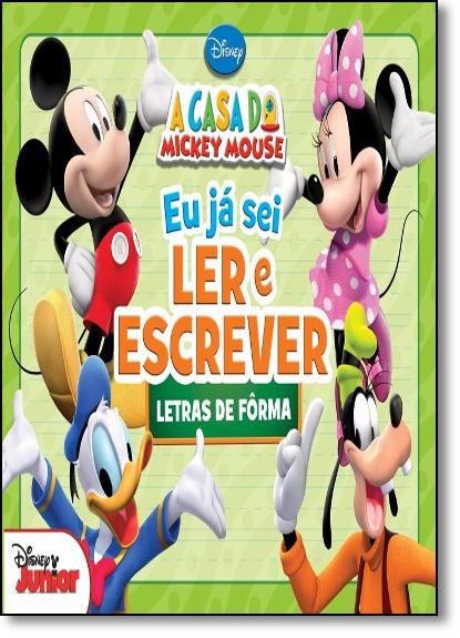 Disney: Letras de Fôrma - Coleção Eu Já Sei Ler e Escrever, livro de Jefferson Ferreira