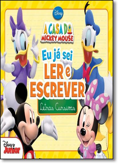 Disney: Letras Cursivas - Coleção Eu Já Sei Ler e Escrever, livro de Jefferson Ferreira
