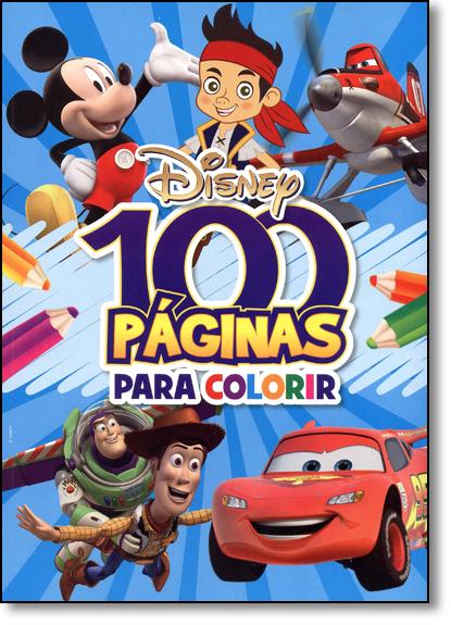 Disney - Coleção 100 Páginas Para Colorir - Meninos, livro de Jefferson Ferreira
