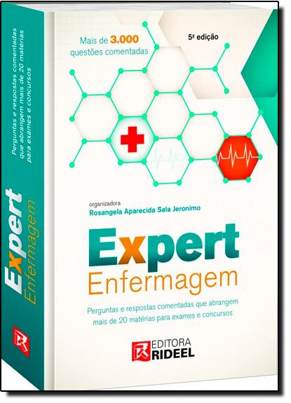 Expert Enfermagem, livro de Rosangela Aparecida Sala Jerônimo