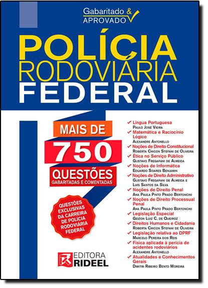 Gabaritado & Aprovado: Polícia Rodoviária Federal, livro de Equipe Rideel