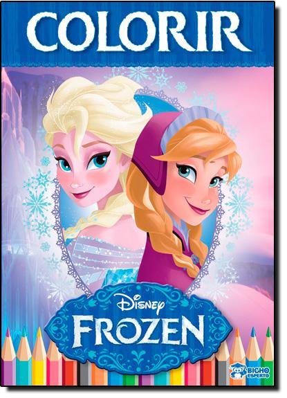 Disney Frozen - Vol.2 - Colorir, livro de Editora Bicho Esperto