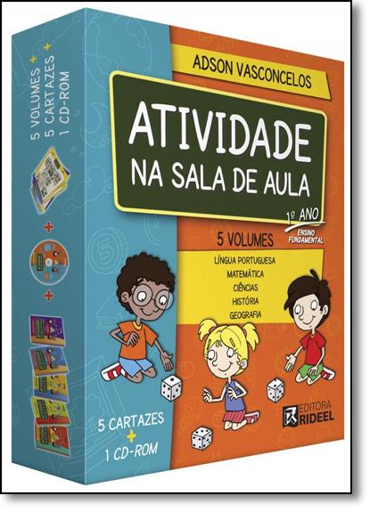 Coleção Atividades na Sala de Aula - 1º Ano, livro de Adson Vasconcelos