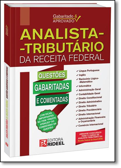 Gabaritado & Aprovado: Analista Tributário da Receita Federal, livro de Editora Rideel