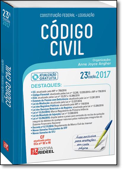Código Civil, livro de Anne Joyce Angher