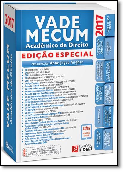 Vade Mecum - 2017 - Edição Especial, livro de Anne Joyce Angher
