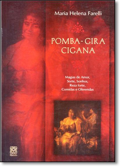 POMBA-GIRA CIGANA, livro de FARELLI