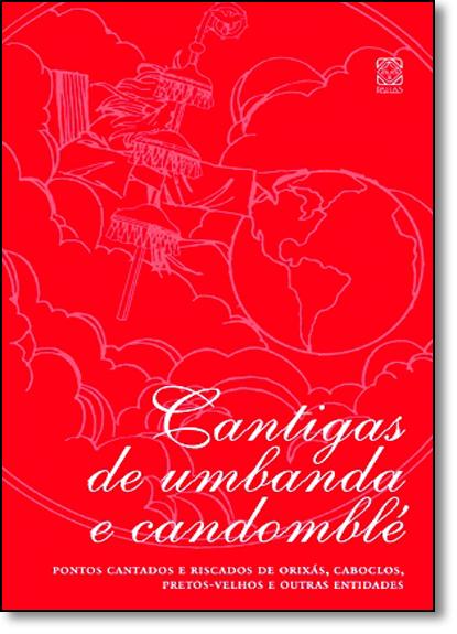 Cantigas de Umbanda e Candomblé, livro de Pallas