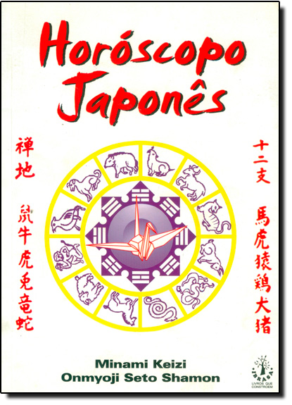 Horóscopo Japonês, livro de Minami Keizi