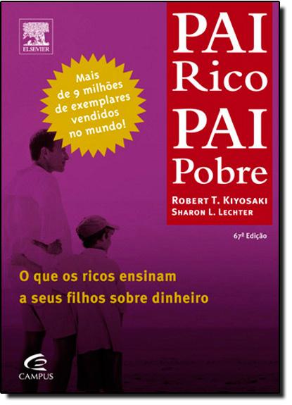 Pai Rico, Pai Pobre, livro de Robert Toru Kiyosaki