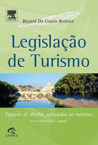 LEGISLACAO DE TURISMO, livro de BOITEUX