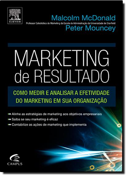 Marketing de Resultado, livro de Peter Mouncey