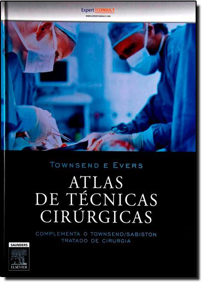 Atlas de Técnicas Cirurgicas, livro de Townsend | Courtney M.