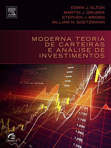 Moderna Teoria de Carteiras e Análise de Investimentos, livro de Stephen J. Brown | William N. Goetzmann