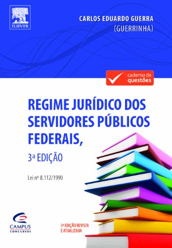 Regime Jurídico dos Servidores Público Federais, livro de Carlos Eduardo Guerra