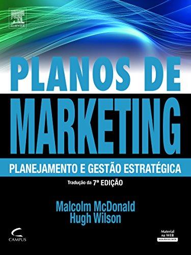Planos de Marketing, livro de Malcom McDonald