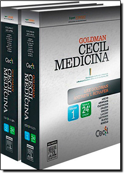 Goldman Cecil Medicina - 2 Volumes, livro de Lee Goldman
