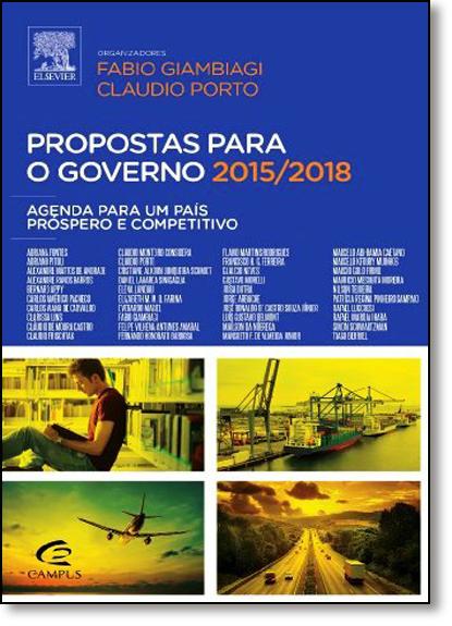 Propostas Para o Governo 2015-2018, livro de Fabio Giambiagi