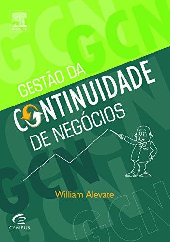 Gestão da Continuidade de Negócios, livro de William Alevate