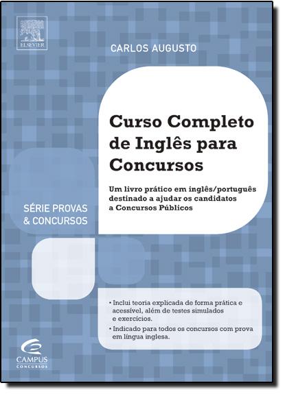 Curso Completo de Inglês Para Concursos, livro de Carlos Augusto