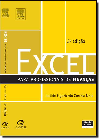 Excel Para Profissionais de Finanças, livro de Jocildo Figueiredo Correia Neto