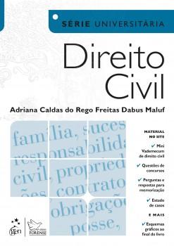 Direito civil, livro de Adriana Caldas do Rego Freitas Dabus Maluf